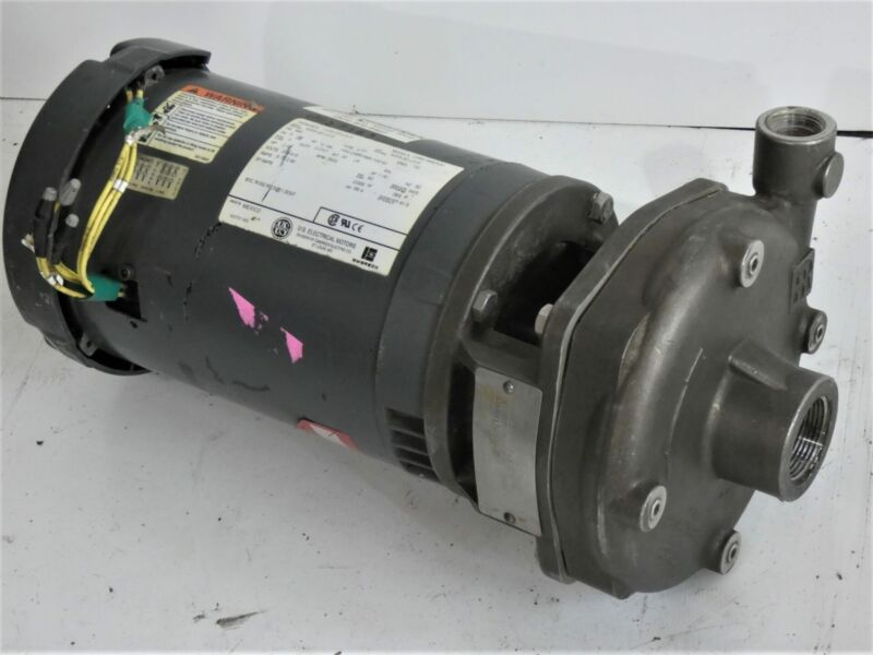 Flowserve Centrifugal Pump 1.25 x .75 x 6 W/ 2HP US Electrical Motor 208/415V...