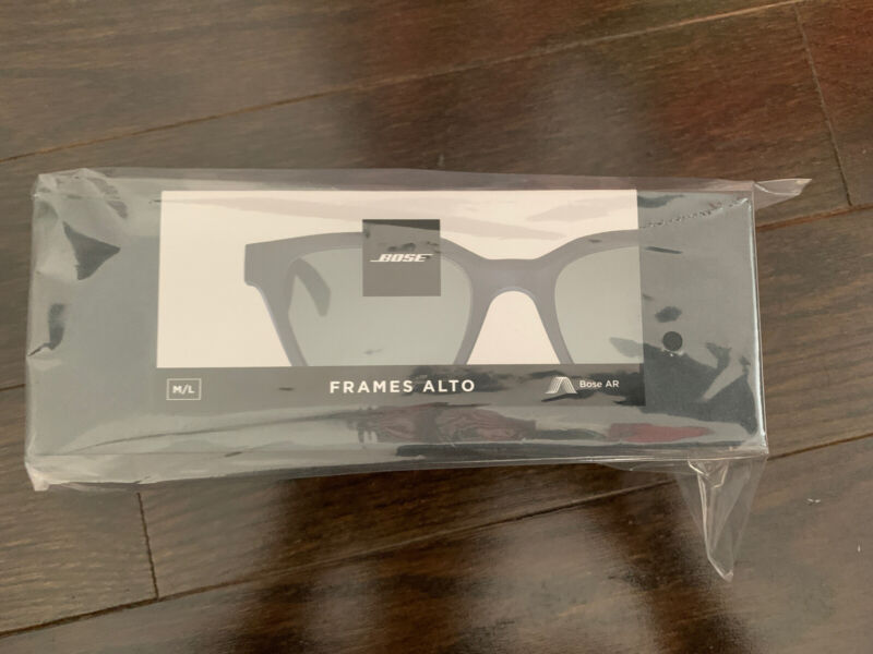 Bose Frames Alto Audio Sunglasses Bluetooth Connectivity M/L 833416-0100 - NEW