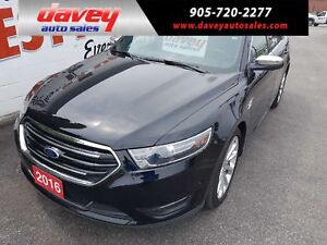 2016 Ford Taurus Limited ALL WHEEL DRIVE, NAVIGATION, SUNROOF