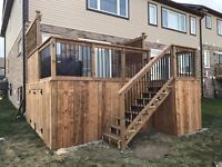 Cams Contracting- Quality Fences and Decks! Booking this Summer!