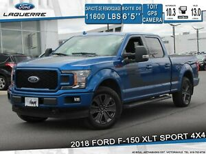 2018 Ford F-150 XLT SPORT*4X4*GPS*CAMERA*BLUETOOTH*A/C**