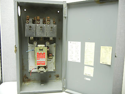 Square D 8903 Qg-11 Used 100a Tungsten And Ballast Lighting Contactor 8903qg11