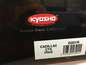 Kyosho 1/18 Cadillac CTS sedan in red