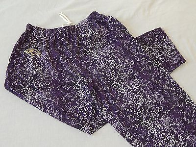 NEW Baltimore Ravens Camo Snake Print NFL Football Lounge Pants Pajamas Mens M L](Baltimore Ravens Football)