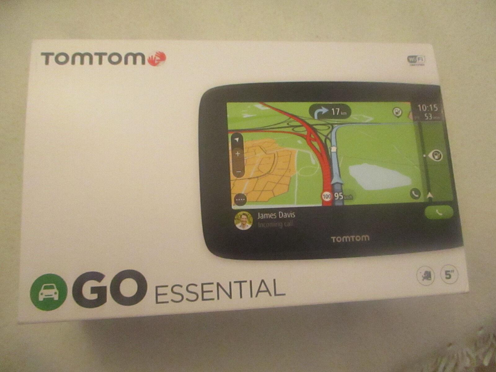 TomTom GO Essential 5  EU  Karten  Livetime Update