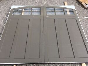 9x7 insulated fibreglass faced door