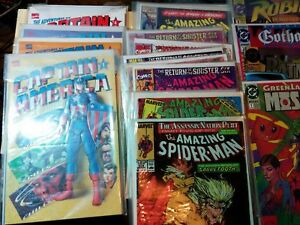 Lot  Marvel comics