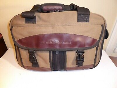 Samsonite Black Canyon Canvas Leather Duffel Travel Bag Carry On