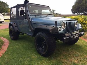 1997 Jeep Wrangler Convertible Hillbank Playford Area Preview