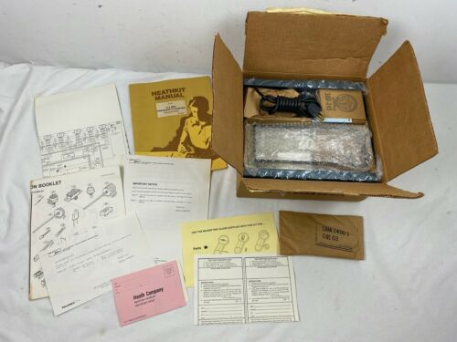 NEW OPEN BOX Vintage HeathKit Model IM-2420 Frequency Counter Unassembled Kit