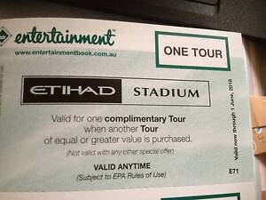Etihad Stadium tour buy one get one free St Kilda Port Phillip Preview