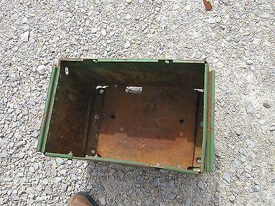 John Deere 520 530 620 630 Tractor Deluxe Jd Battery Box Under The Seat