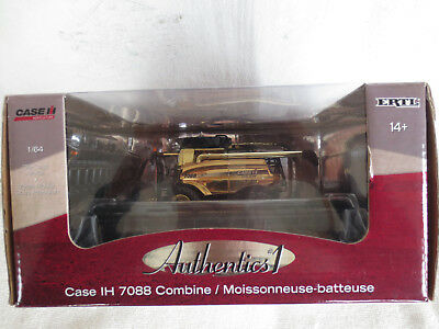 ERTL 1/64 CASE IH 7088 PRECISION AUTHENTICS #1 GOLD CHASE FARM TOY COMBINE RARE