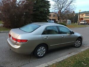 Honda Accord 2003 Automatic  West Island Greater Montréal image 3