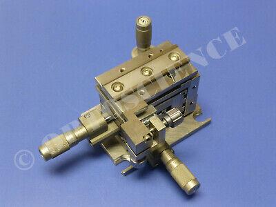 Newport Ultralign M-561d-xyz-lh Translation Stage With M-561-tilt-lh Sm-13