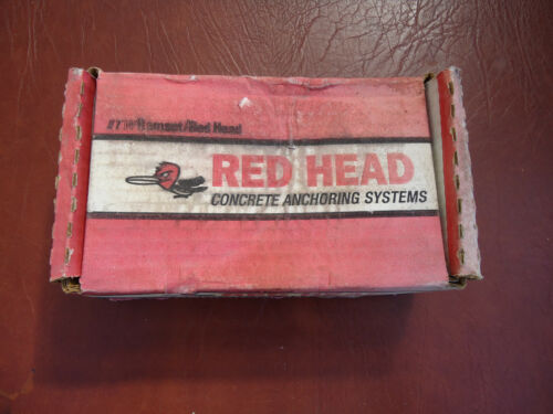 """27 Red Head 1/2"""" x 5-1/2"""" Concrete Wedge Anchors Fastener Bolts, 50097 open box"""