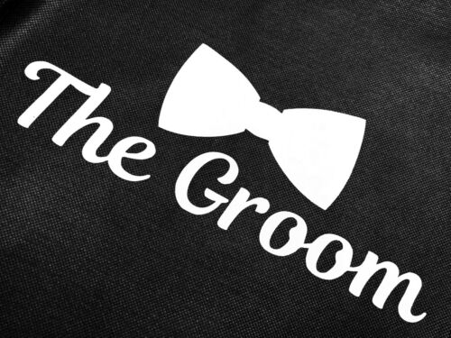 THE GROOM Breathable Black Tuxedo Suit Wedding Travel Storage Garment Bag