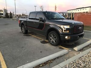 2016 Ford F-150 lariat sport special edition