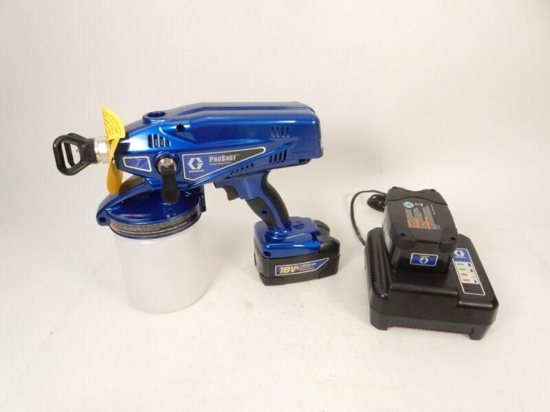 Graco 258865 ProShot 18V Cordless Paint Sprayer