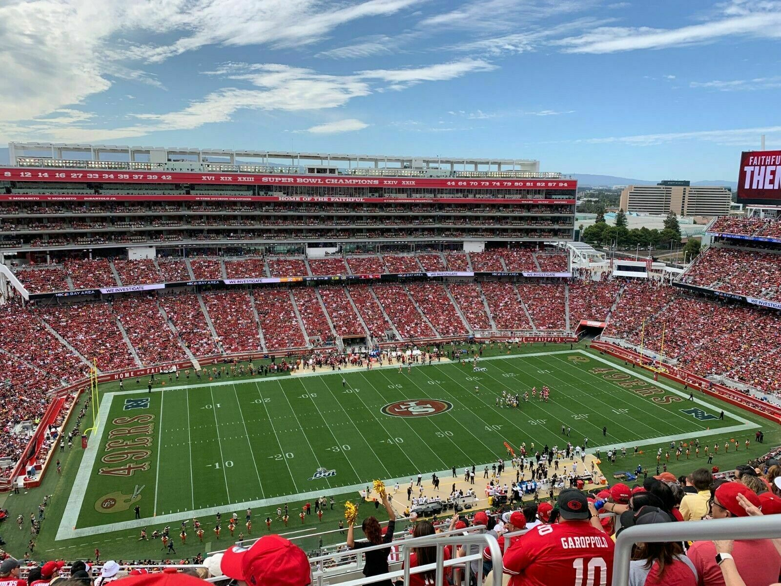 2 San Francisco 49ers Vs PACKERS 9/26 TICKETS PARKING PASS GREEN LOT1 - $570.00
