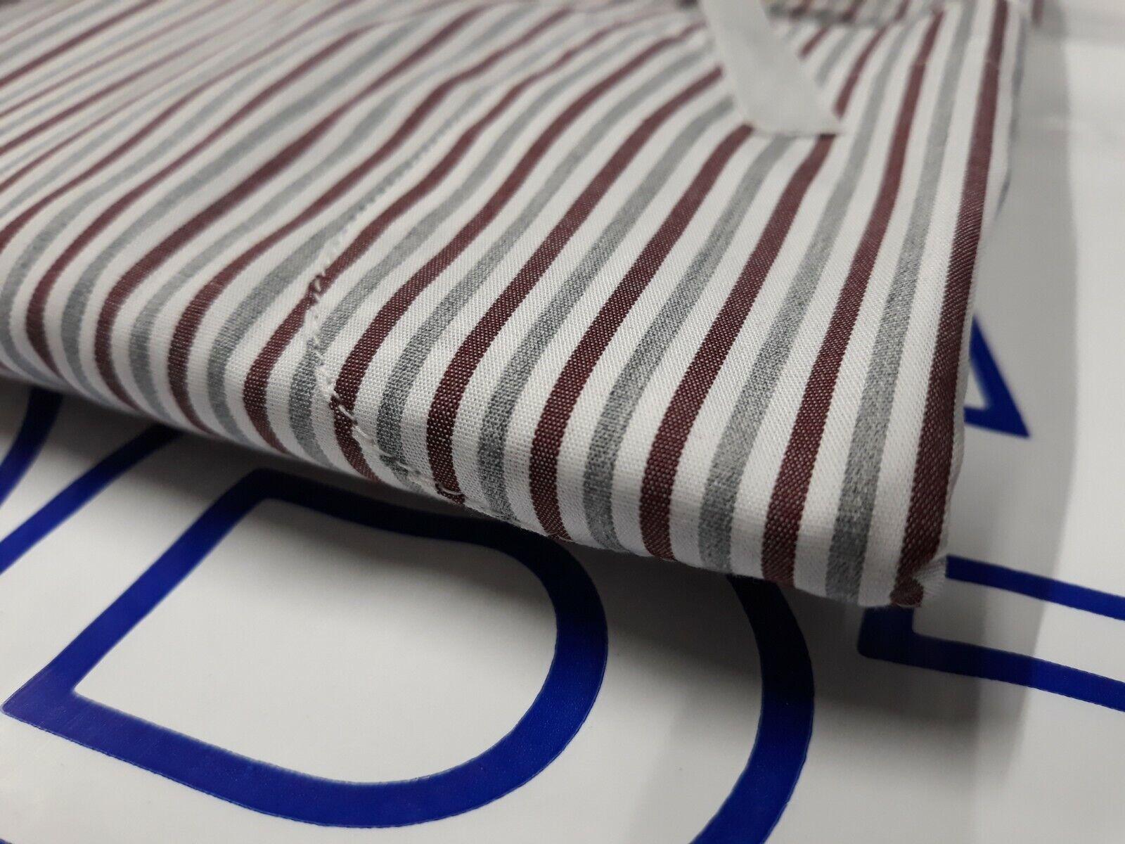 FRARICA Men s Shirts Art. 182M BDBUS31L0 - White/Red/Grey - 60,90€