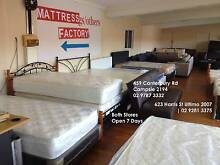 Massive Sale Brand New Mattress and Base in Sydney Factory Campsie Canterbury Area Preview