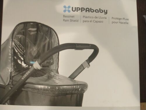 UPPAbaby VISTA/CRUZ Infant Bassinet Rain Shield Cover - Clear - Fits all bassine