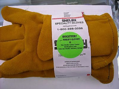 SHELBY SPECIALTY FIREFIGHTING COWHIDE GLOVE GAUNTLET MODEL 5228 SIZE S