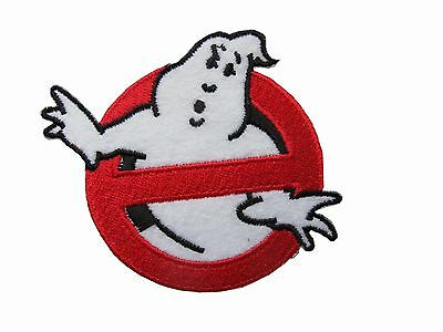 Embroidery Sign - #6108 Ghostbusters No-Ghost Sign Movie Logo Embroidery Applique patch