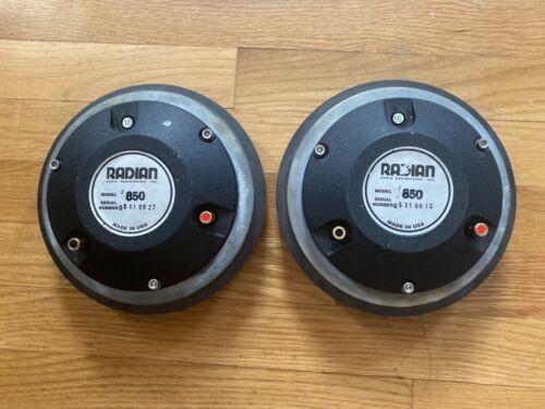 Radian 850 Compression Driver