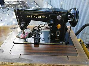 Singer Treacle and Electric Sewing Machine Joondanna Stirling Area Preview