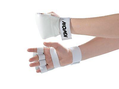 Handschutz Competition, Kwon. Ju Jutsu, Karate, SV, S - XL Weiß, blau u. rot