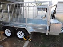 10x5 Tandem trailer, Galvanized Tocumwal Berrigan Area Preview