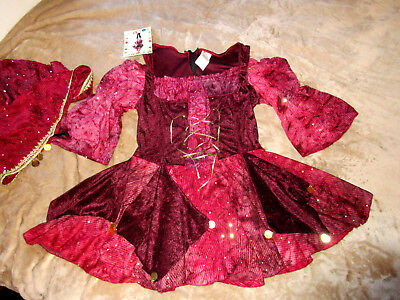 Sexy Kostüm-Kleid Esmeralda~Zigeunerin~Wahrsagerin Gr M L Karneval~Fasching NEU!