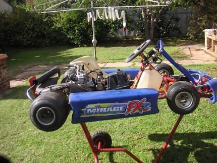 Rotax  go Kart  CRG 32/30 Chassis  &  Accessories Salisbury Salisbury Area Preview
