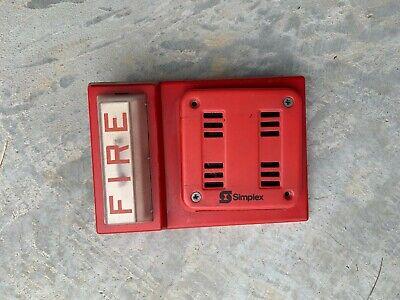 Simplex 4904-9105 Strobe With 2901-9838 Horn