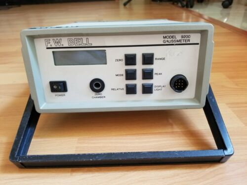 FW BELL 9200 GAUSSMETER with 2 probes model HAB92-2508 & HTB92-0608