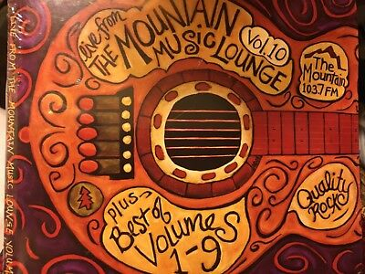 KMTT live from The Mountain Music Lounge Vol.10 Cd 2 disc set plus Best of (The Best Of Live Lounge)