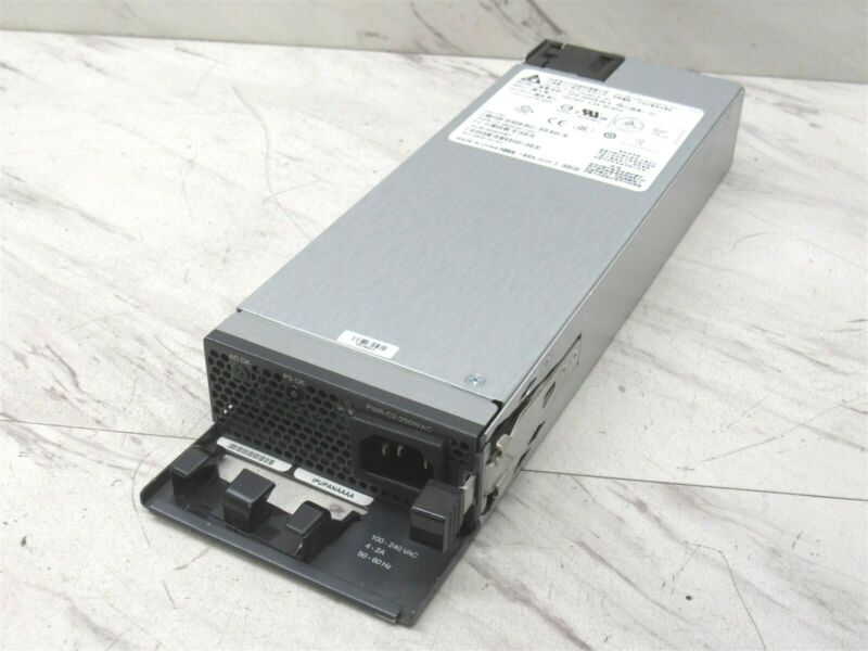 Genuine Cisco Delta PWR-C2-250WAC Power Supply Unit 250W DPS-250AB-86 PSU