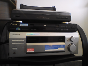 Pioneer DVD player & Receiver  Optimus Automatic Turntable Bunbury Bunbury Area Preview