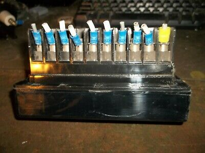 ABB 129A501G01 TEST SWITCH (WL126) for sale  New Bloomfield