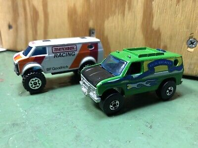 Baja Breaker Hot Wheels Vintage Green lot 1976-1977 Matchbox Racing Van 1981