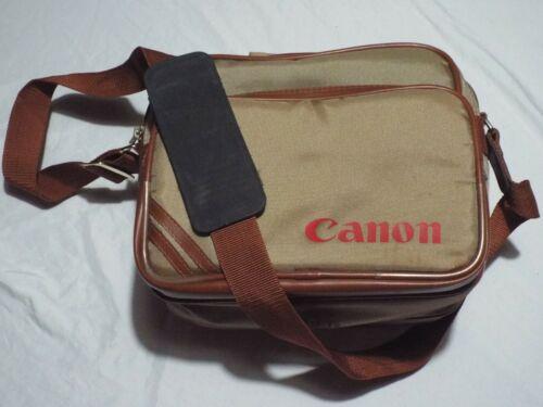 Vintage Canon Nylon Camera Bag with Adjustable Shoulder Strap