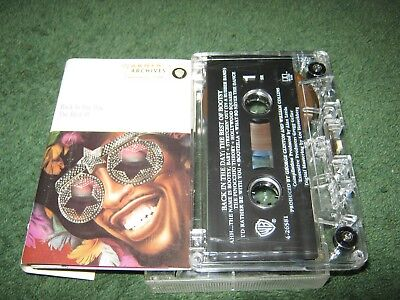 Back in the Day: The Best of Bootsy by Bootsy Collins (cassette) (Bootsy Collins Back In The Day The Best Of Bootsy)