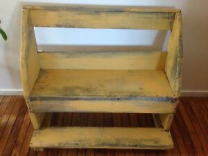Distressed bench