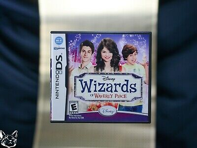Wizards of Waverly Place [Nintendo DS GAME+BOX+MANUAL Magic - Wizards Of Waverly Place Alex