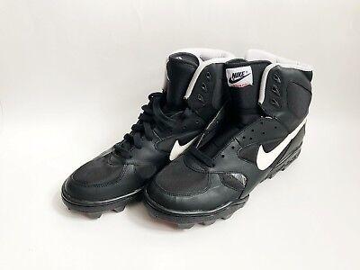 vintage nike shark high football shoes mens size 11.5 deadstock NIB 1991
