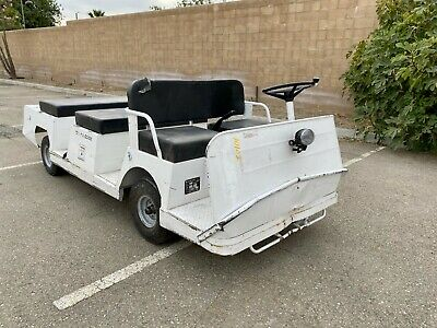 2007 Taylor Dunn Bt-280 6 Passenger Personnel Carrier Electric Industrial Cart