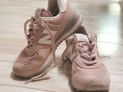 New Balance Women's Classic 574 Sneakers Pink Faded Rose Size US 9