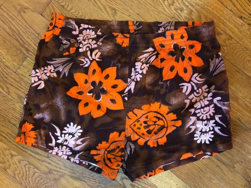 Vintage 1950s 1960s Kamehameha Swim Shorts